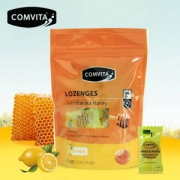 Comvita 康维他 麦卢卡UMF10+蜂蜜硬糖果40粒 柠檬味
