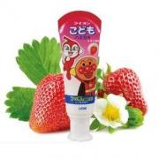 LION 狮王 面包超人 酵素儿童护理牙膏 40g 草莓味 9.9元包邮(需拼团)