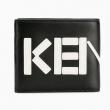 KENZO 高田贤三 男士logo双折短款钱包759包邮包税