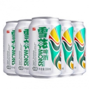 SNOW 雪花啤酒 冰酷拉罐 330ml*24听 45.9元