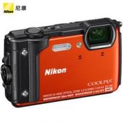 Nikon 尼康 COOLPIX W300s 防水、防震(耐冲击)、防寒、防尘 数码相机 (橙色) 2649元包邮