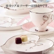 国内¥700,Narumi 鸣海 Felicita系列 心形甜品骨瓷碟2只装 Prime会员免费直邮含税到手新低290元