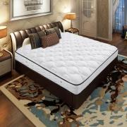 AIRLAND雅兰  舒伯特 真皮双人床+金梦豪 独立袋弹簧床垫 1.5*2m¥4999