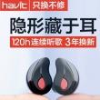Havit 海威特 I3S 隐形蓝牙耳机 3色史低19.9元包邮(需领券)