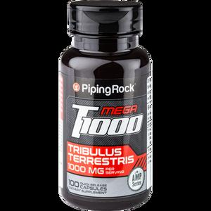 PipingRock 刺蒺藜皂甙胶囊 100粒*2件 促睾增肌 缓解疲劳