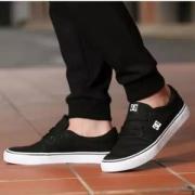 DCSHOECOUSA  经典黑白男女休闲板鞋帆布鞋245元包邮(需领券)