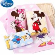 Disney 迪士尼 米妮米奇纯棉割绒儿童毛巾4条
