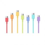 smartisan 锤子 彩虹Type C数据线 1米充电线 适用于坚果R1/Pro 2S等 3条 34.9元