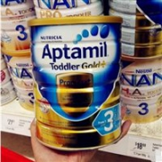 补货!Aptamil爱他美金装奶粉3段/4段 900g售价AU$22.95,约113元,叠加网站满减
