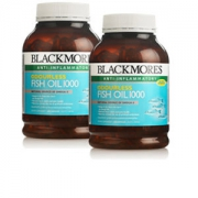 澳佳宝(Blackmores)  深海鱼油软胶囊 400粒*2瓶