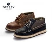 Sperry 女士真皮防滑短靴 2色