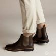 限UK7码,Clarks 其乐 Batcombe Top 男士真皮切尔西短靴 Prime会员免费直邮含税到手新低352.72元