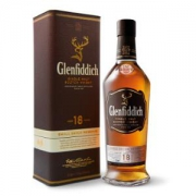 Glenfiddich 格兰菲迪 18年苏格兰达夫镇单一麦芽威士忌 700ml