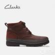 限41码,Clarks 其乐 Rushway Mid 男士GTX防水真皮短靴 Prime会员免费直邮含税到手新低448元(国内天猫¥1239)