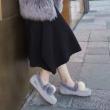 DK Sheepskin UGG DK211 女士加绒保暖内增高豆豆鞋349元