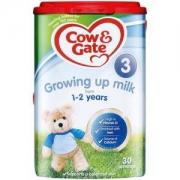Cow&Gate 牛栏 配方婴幼儿奶粉 3段 800g *4件