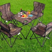 KANSOON 凯速 户外野餐折叠便携桌椅 5件套
