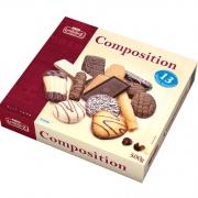 lambertz 美式巧克力曲奇等糕点铁盒装 500g  获德国世纪品牌金奖