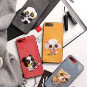 Di-LiAN iPhone6-XS 刺绣手机壳 7.9元包邮(27.9-20)