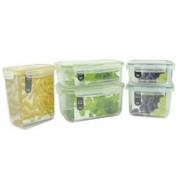 LOCK&LOCK 乐扣乐扣 NEO NLP131S002 塑料保鲜盒5件套 *3件 262.5元包邮(3件7折,合87.5元/件)