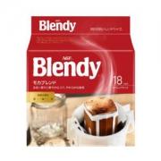 AGF Blendy系列 滤挂/挂耳咖啡 摩卡风味 7g*18袋 *5件
