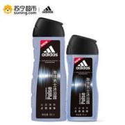 adidas 阿迪达斯 男士激情沐浴露套装 (400ml+250ml) 23.9元(2人拼团)