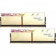 G.SKILL 芝奇 Trident Z Royal 皇家戟 DDR4 台式机内存 3600频 16G(8Gx2)光跃金