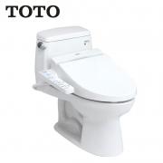 TOTO   CW854SB TCF345CS 坐便器智能马桶盖组合套餐¥3599