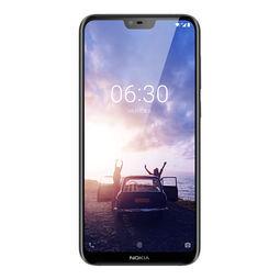 Nokia 诺基亚 X6 全网通4G双卡 全面屏 AI拍照手机 星空黑 4GB+64GB 1099元包邮