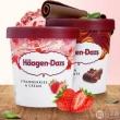 Haagen-Dazs 哈根达斯 冰淇淋400g*2杯*2件188.5元包邮(双重优惠)