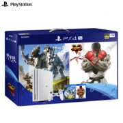 索尼(SONY)   PlayStation 4 Pro 1TB(白色)大作贺岁套装