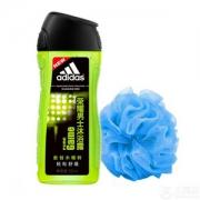 Adidas 阿迪达斯 荣耀 男士沐浴露 250ml 送沐浴球9.9元包邮(需领券)