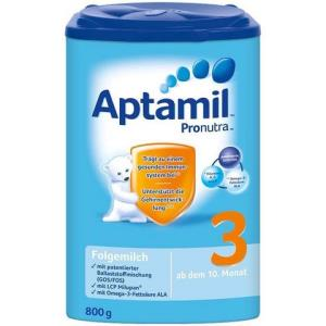 Aptamil 德国爱他美  婴幼儿奶粉 3段 10-12个月 800g *2件