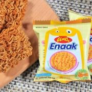 印尼进口,GEMEZ Enaak Extra小鸡风味干脆面 16g*15包
