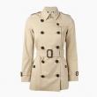 BURBERRY 博柏利 女士短款经典风衣外套¥7899