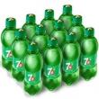 7-Up 七喜 柠檬味 碳酸饮料 330ml*12瓶 *2件27.3元(2件7折)