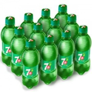 7-Up 七喜 柠檬味 碳酸饮料 330ml*12瓶 *2件