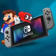 任天堂(Nintendo)  Switch 游戏主机 日版 黑色¥2099