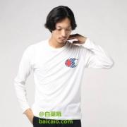 XL码,日版 Champion 冠军牌 C3-NS421 男士速干长袖T恤 Prime会员凑单免费直邮含税到手新低132元(需用码)