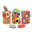 B.toys 比乐 BX1661Z ABC字母幻彩软积木 6个月  149元包邮149元包邮