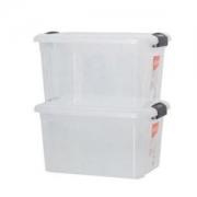 Citylong 禧天龙 6485 塑料收纳箱 24L 2个装   *3件107元包邮(合35.67元/件)