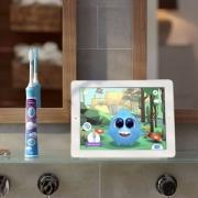 Philips 飞利浦 HX6322/04 蓝牙版 声波震动儿童牙刷  刷头×2