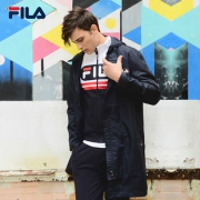 FILA 中长款时尚上衣 F11M918706F 黑 下单价1279¥1279