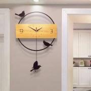 久久达 创意现代简约钟表挂钟 20英寸