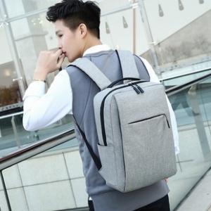 男女通用韩版简约时尚双肩包商务包