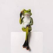 BOMAROLAN 堡玛罗兰 北欧瑜伽青蛙 小摆件