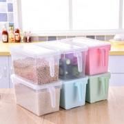 莱朗 日式透明冰箱收纳盒带手柄 2个装 37元包邮