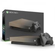 Microsoft 微软 Xbox One X 1TB 家庭娱乐游戏机 渐变金限量版