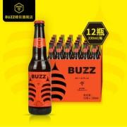 12瓶 BUZZ蜂狂精酿啤酒 蜂狂IPA印度淡色艾尔 国产精酿啤酒330ml  券后78元