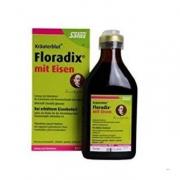 Salus Floradix  铁元 绿瓶 补铁补血营养液500ml